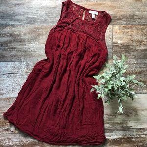 Liz Lange | Lace Top Maternity Dress